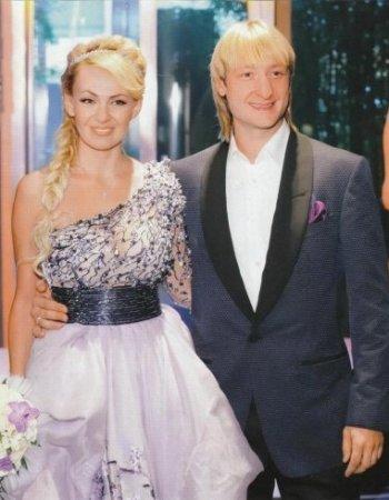 Рудковская и Плющенко : разница в возрасте. Евгений Плющенко и Яна 23