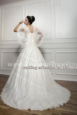 самое шикарное свадебное платье