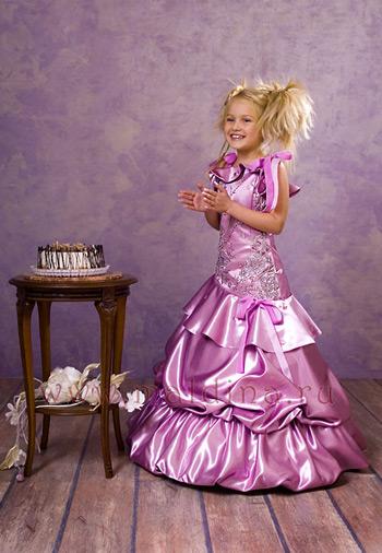 Детское платье Пеппи от Ver-De.
