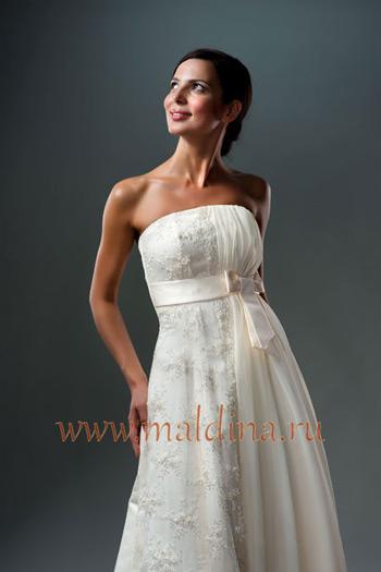 DataLife Engine Версия для печати Свадебное платье с бантом.