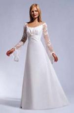 """Гораздо меньше свадебных платьев в стиле  """"ампир """""""