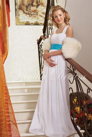 Свадебные платья для полных.