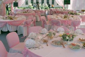Свадебный зал - украшаем сами