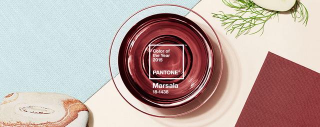 Цвет Марсала