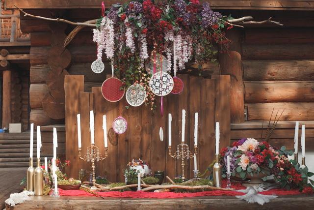 Декор от Wedding Atelier